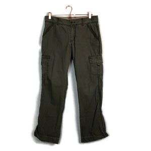CARHARTT green cargo / army pants size 8